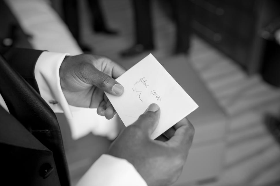 Groom Note Pre Wedding
