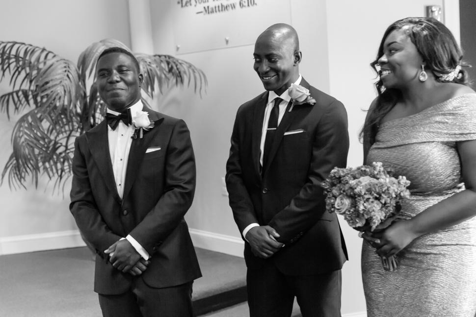 Happy Groom Wedding Ghanaian