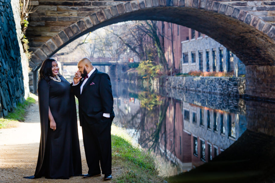 Georgetown DC Engagement Session Photographer