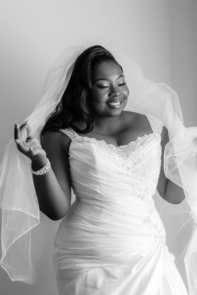 Bridal Prep Portrait