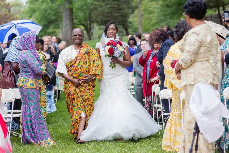 Scottish Ghanaian DC Wedding
