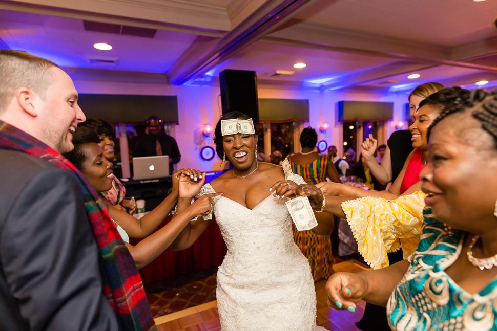 Bride Money Spray