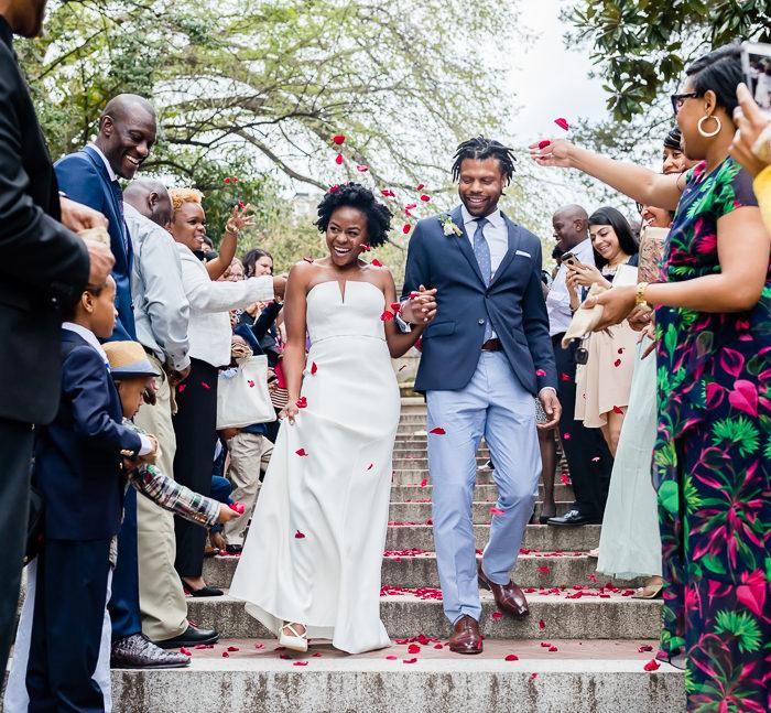 Washington DC Spanish Steps Wedding
