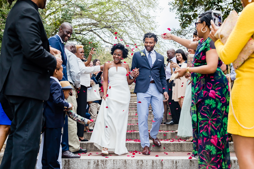 Bride and Groom Celebration