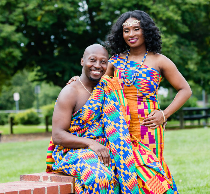 DC Traditional Ghanaian Engagement Photographer