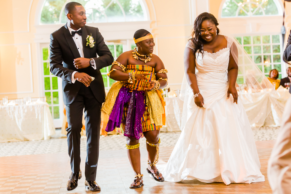 Ghanaian Traditional Wedding First Dance