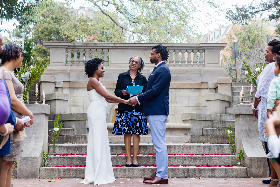 Wedding In Spanish.Washington Dc Spanish Steps Wedding