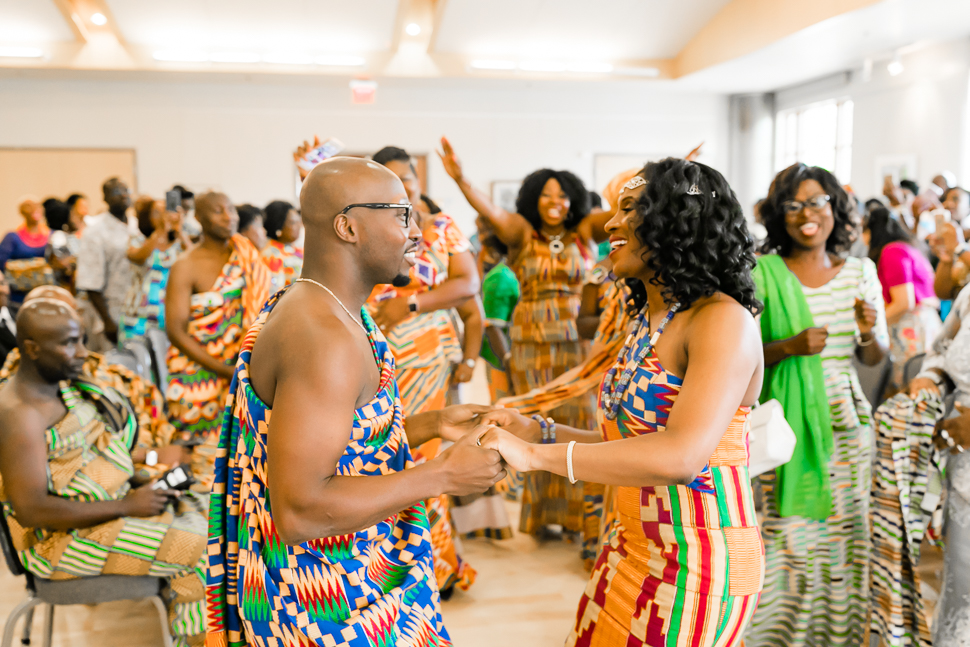 DC Traditional Ghanaian Engagement