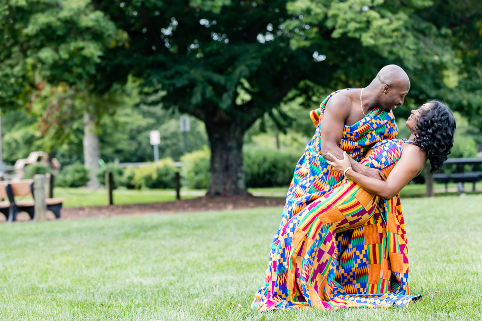 Traditional Ghanaian Engagement Couple