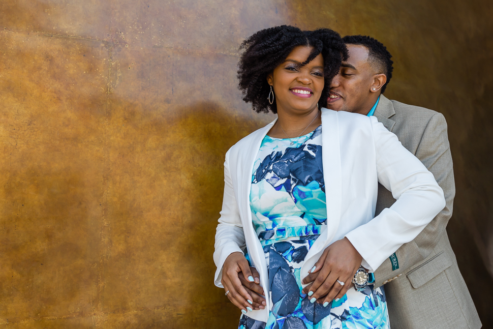 National Portrait Gallery Engagement Session
