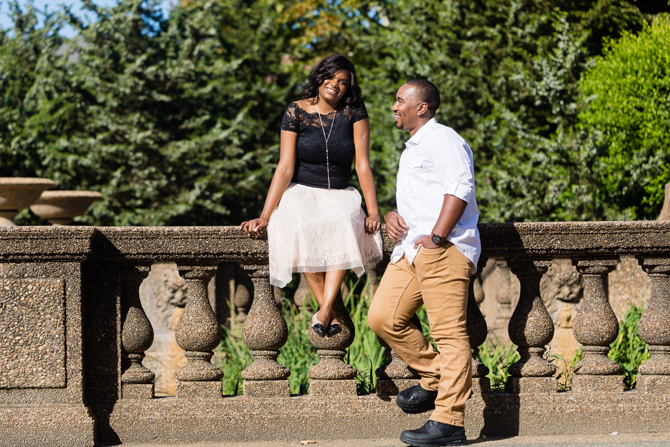Meridian Hill Park Engagement Photographer