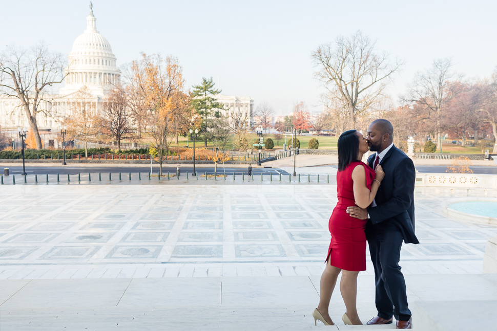 DC Monument Engagement Photographer