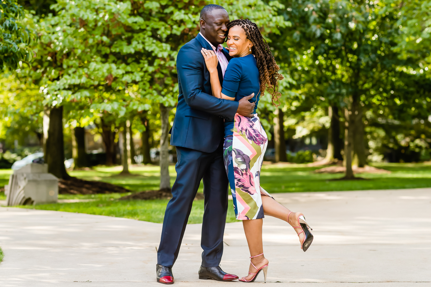 National Cathedral Engagement Session